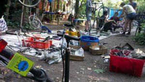 Fahrradwerkstatt-in-Aktion